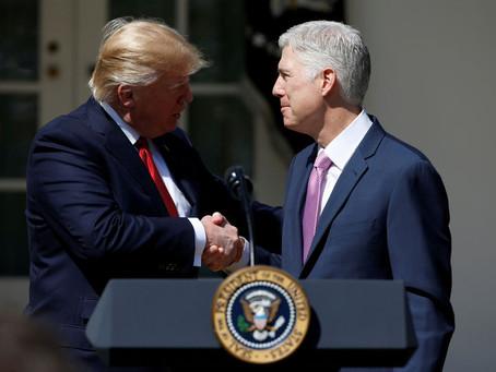 CFJ Applauds Trump's Additions to SCOTUS List