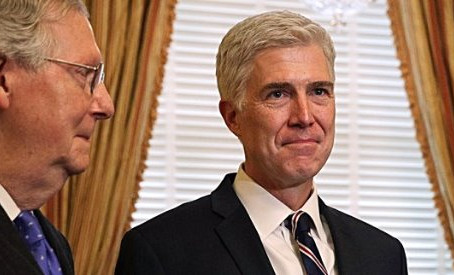 Fake news about Gorsuch's record