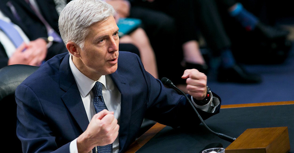 President Trump's first appointee to the Supreme Court showed himself to be an unabashed defender of constitutionalism.