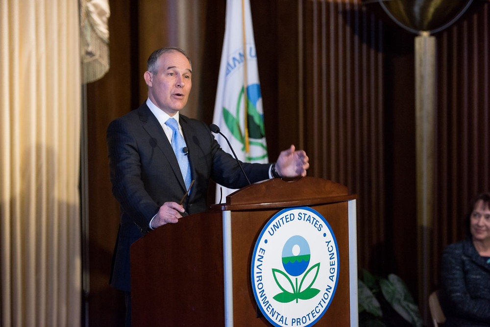 Conservatives Stand with EPA Administrator Scott Pruitt. (Source: Conservative Action Project)