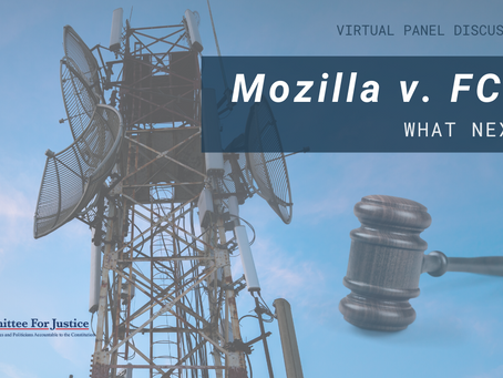 Event Video: Mozilla v. FCC: What Next?