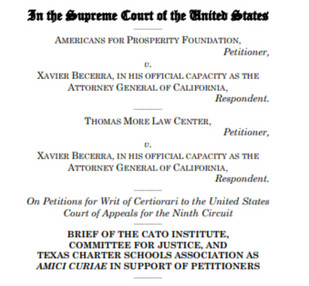 Defending Donor Privacy Against Compelled Disclosure: Amicus Brief Filed in AFP v. Becerra