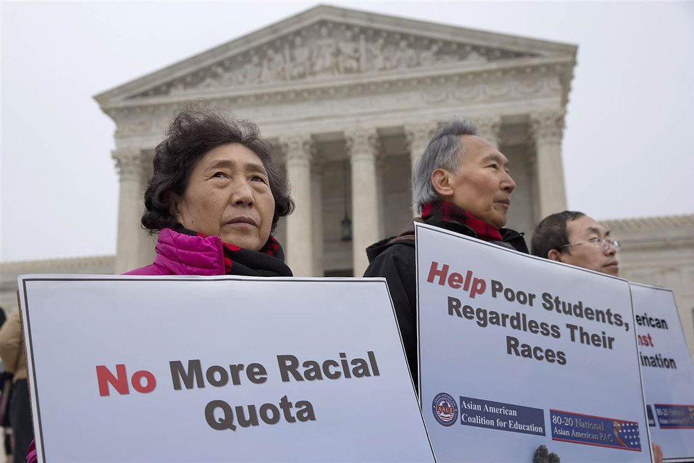 Rulings on affirmative action impact Asian Americans.