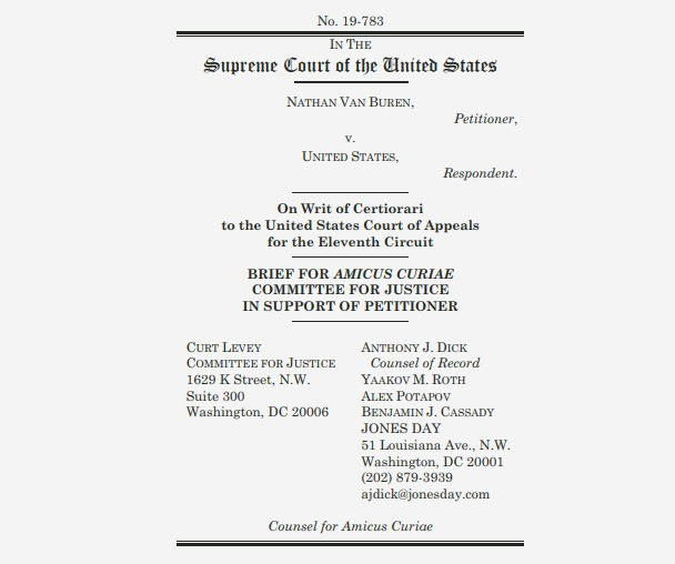 SCOTUS Should Reject Computer Statute Reading That Would Make Nearly Everyone Criminals