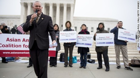 Asian Americans demand fair treatment in college admissions.