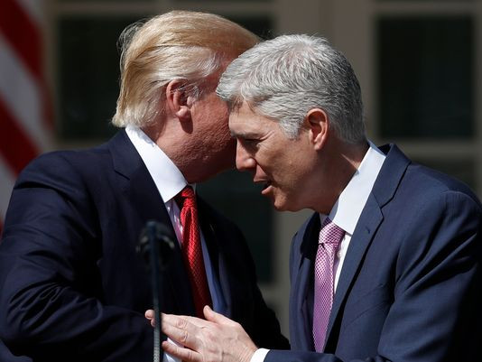 President Trump's selection of federal appeals court judge Neil Gorsuch for the Supreme Court was but the first of many judicial appointments. (Photo: Carolyn Kaster, AP)
