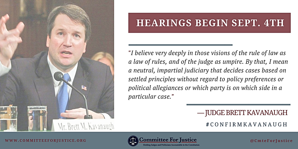 Kavanaugh hearings will shine light on his judicial philosophy, for those willing to listen