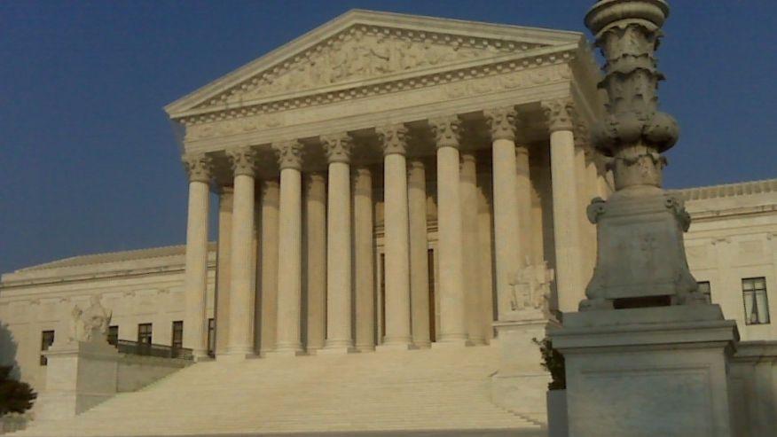 A photo of the U.S. Supreme Court in Washington, D.C.  (Reuters)