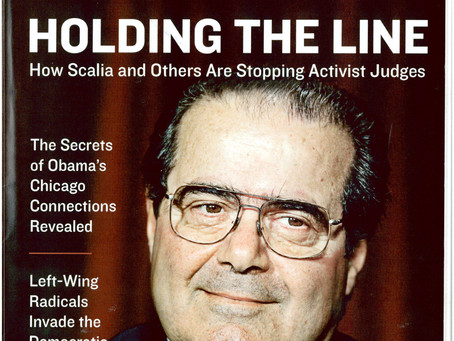 "Holding the Line: Scalia-style strict constructionists are standing in the way of a ""living Constitu"
