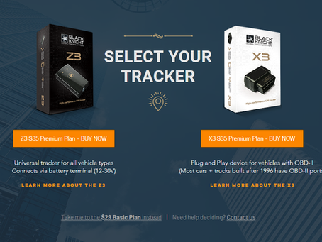 Why a Black Knight GPS Tracking Device?