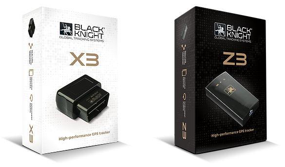 Black Knight GPS Tracking Devices