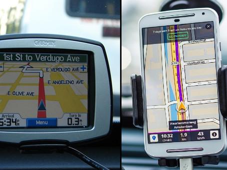 Sat-Navs VS Cellphones