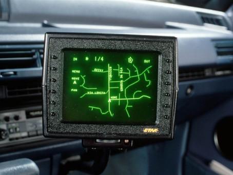 Car Navigation in a Pre-GPS era