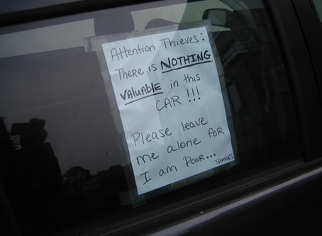 Five More Misconceptions about Car Theft