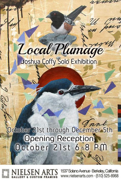 Local Plumage Joshua Coffy Solo Exhibition