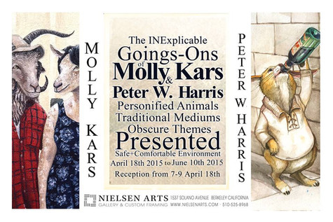 the Inexplicable Goings-Ons of Peter Harris and Molly Kars
