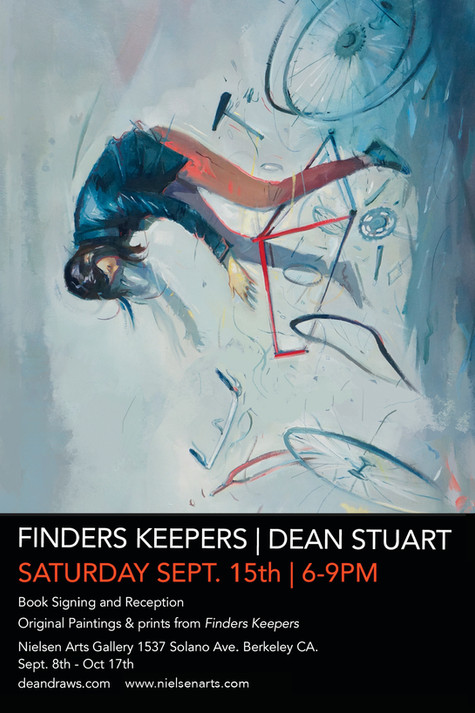 Finders Keepers Book Release and Original Art