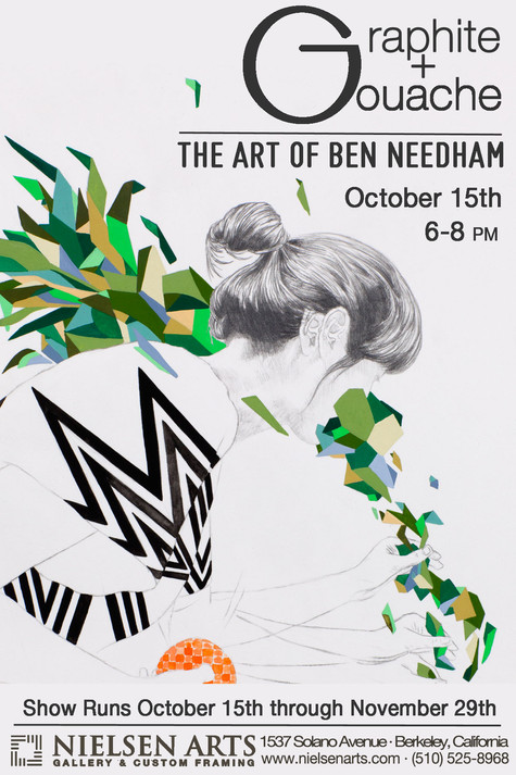 Graphite + Gouache the Art of Ben Needham