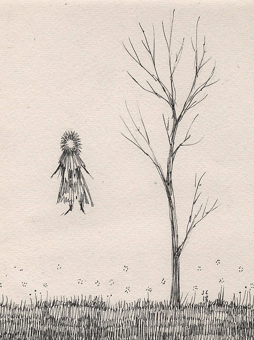 A Ghost by the Dead Tree