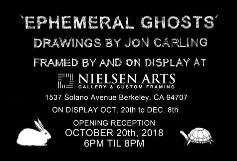 Ephemeral Ghosts illustrations by Jon Carling