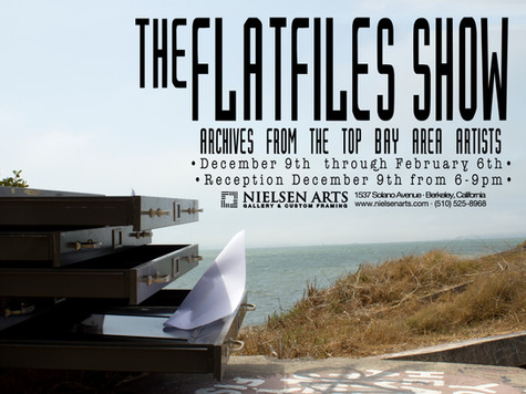 The Flat Files Show  Archives from Top Bay Area Artists
