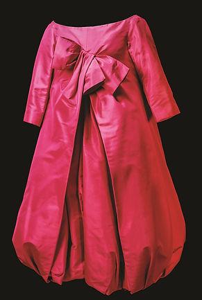 Foto _ Christian Dior Red Bubble Dress .