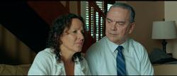 Teresa Hernández (Aurora) y José Félix Gómez (Dr. Eduardo Suárez)