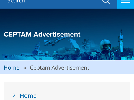 DRDO CEPTAM Admit Card 2020 Released– Fire Engine Driver 'A', Fireman & Other Posts