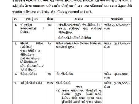 Surat Municipal Corporation, Gujarat Recruitment 2020 - 501 Various Vacancies