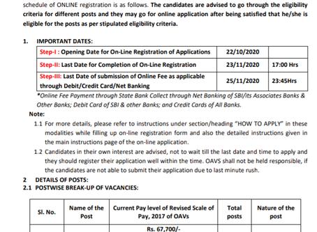 Odisha Adarsha Vidyalaya Sangathan (OAVS) Recruitment 2020: Various Teaching Posts