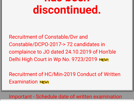 CISF: Constable/ Driver & DCPO 2017 Provisional List Released. Check Now