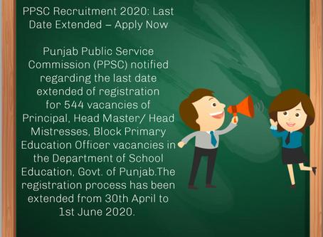 Punjab Public Service Commission (PPSC) Recruitment 2020
