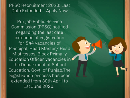 Punjab Public Service Commission (PPSC) Recruitment 2020