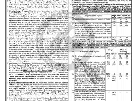 Assam Rifles Technical & Tradesman Recruitment 2021: 1230 Vacancies