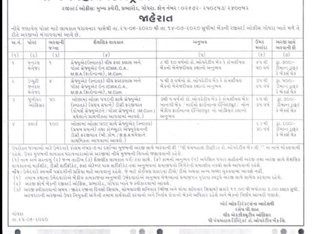 Panchmahal District Cooperative Bank, Gujarat Recruitment 2020 - 155 Vacancies