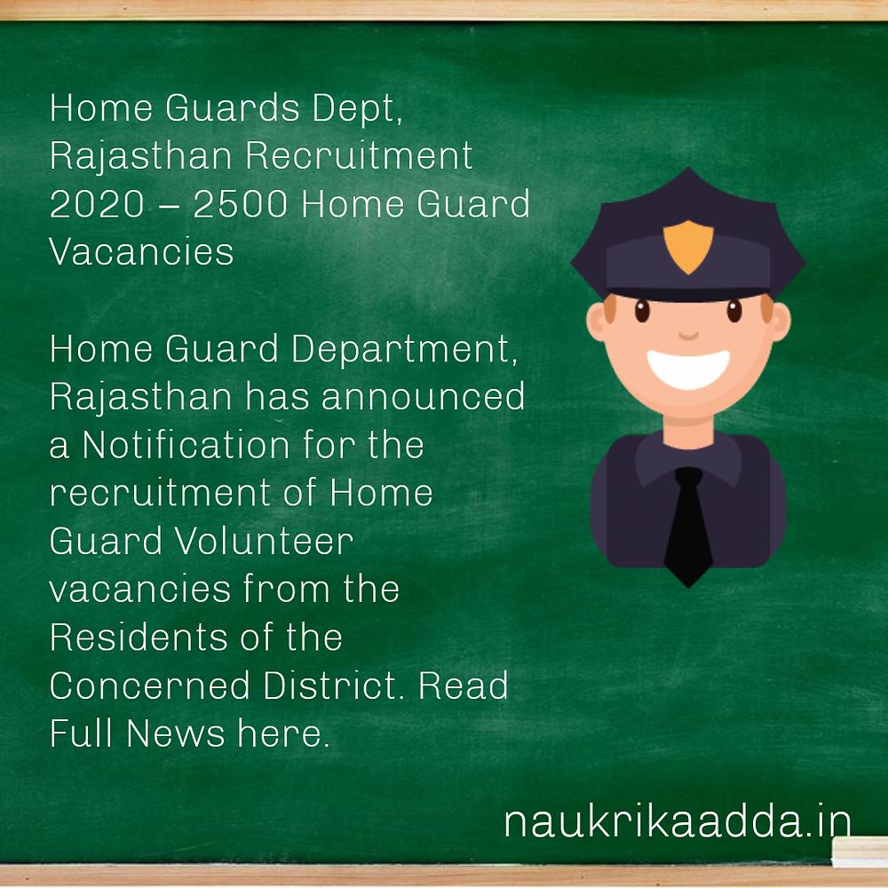 Rajasthan State Job