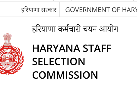 Haryana Staff Selection Commission (HSSC) Results 2018 -Constable (GD). Check Now