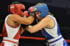 Boxing class for women