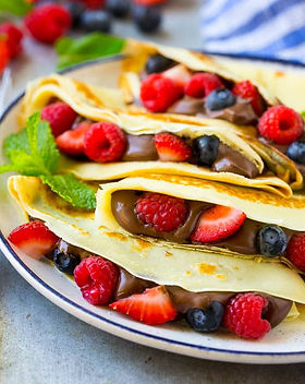 Catering Crepes Los Angeles wedding