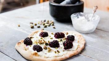 Blackberries Ricotta