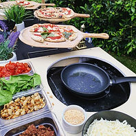 Catering Pizza and pasta bar los angeles