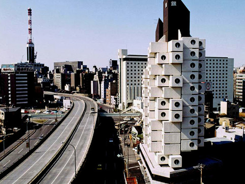 """""""The Fall of the Nakagin Capsule Tower: Betraying Metabolism"""" (2014)"""
