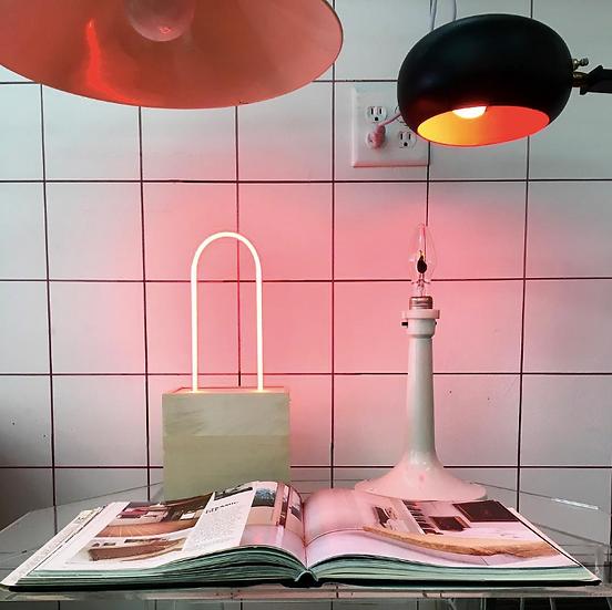 Classic Red Neon Lamp