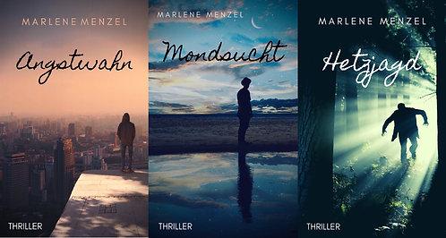 Angstwahn + Mondsucht + Hetzjagd (Trilogie-Paket)