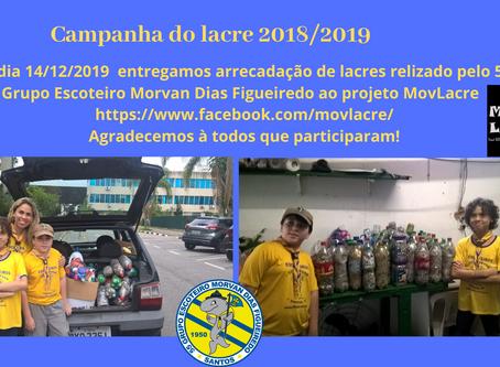 Campanha do Lacre 2018/2019