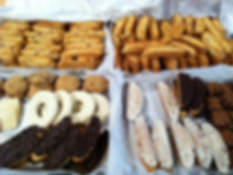 Our biscotti and cookies