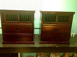 China Dynasty Rosewood Night Stands