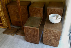 SOLD1930s Gump Furniture side tables