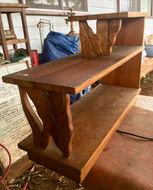 1930's Hawaiian Koa Platform side table