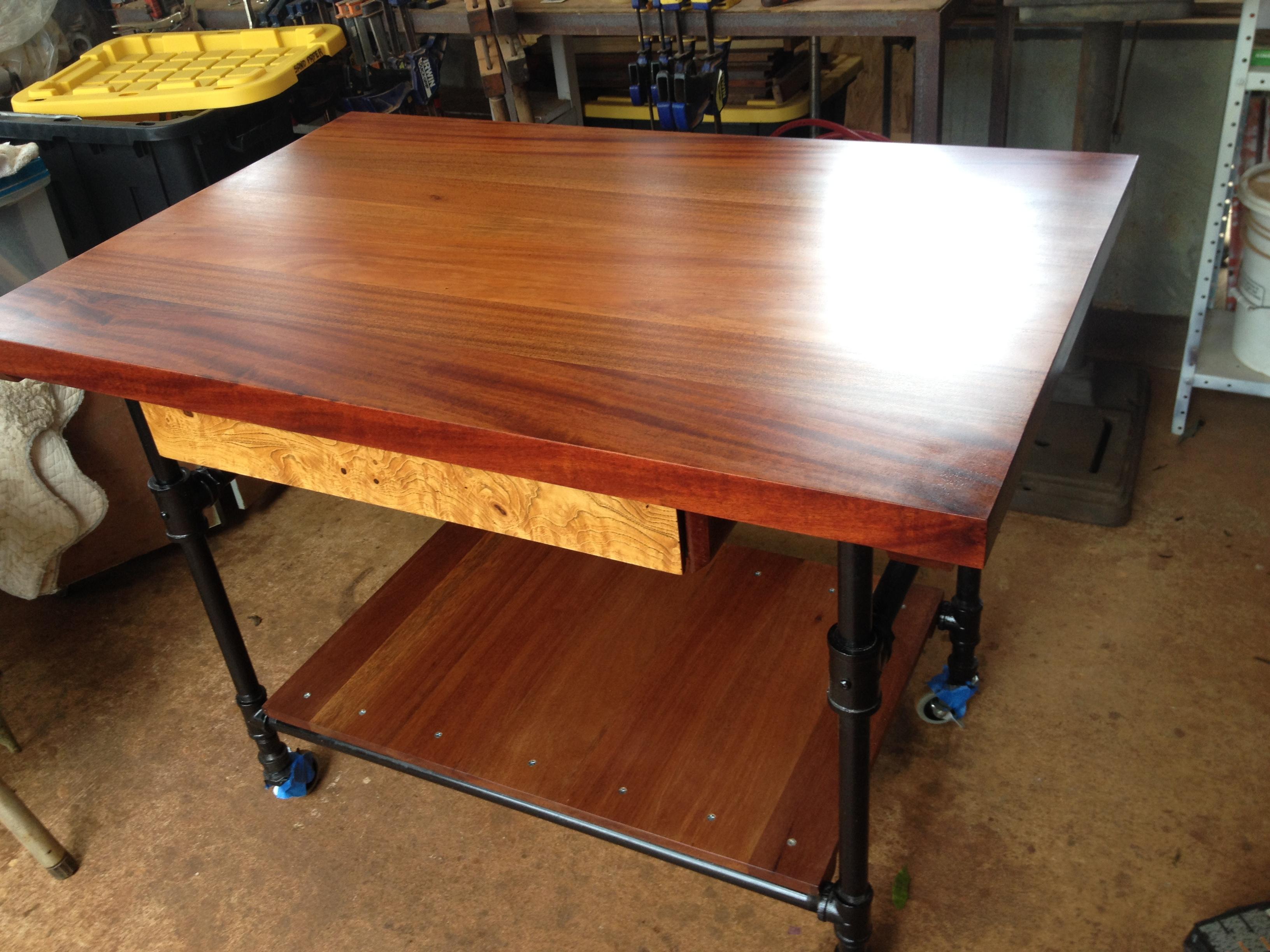African Mahogany Table